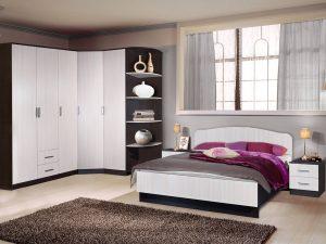 кровать с прикроватными тумбочками на заказ