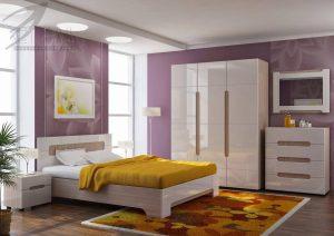 современный спальный гарнитур