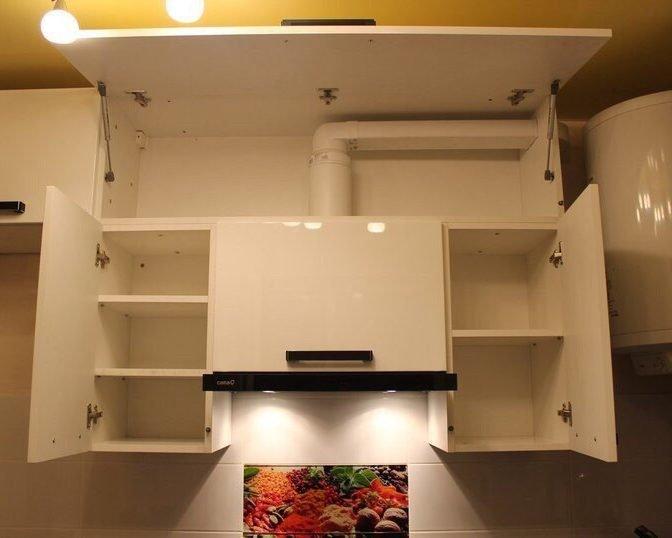 Вытяжка в кухонный гарнитур