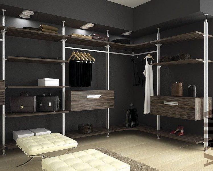 гардеробные системы на заказ для дома и магазинов одежды