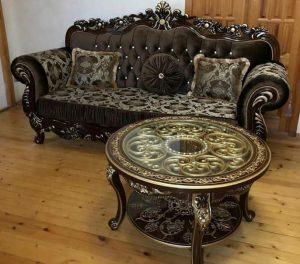 диван и столик для гостиной и зала