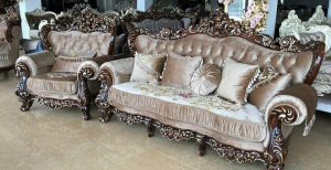 диван светло коричневый