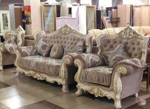 диван с креслами комплект в гостиную купить