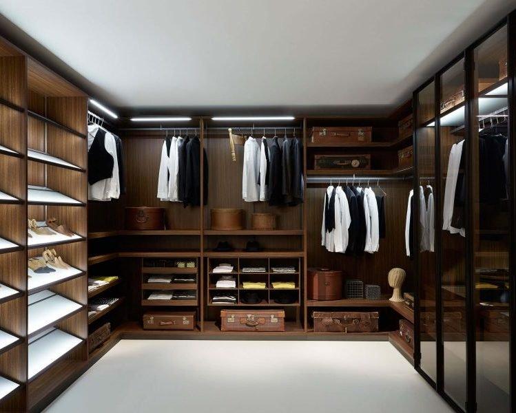 гардеробные на заказ по индивидуальным размерам в Казани