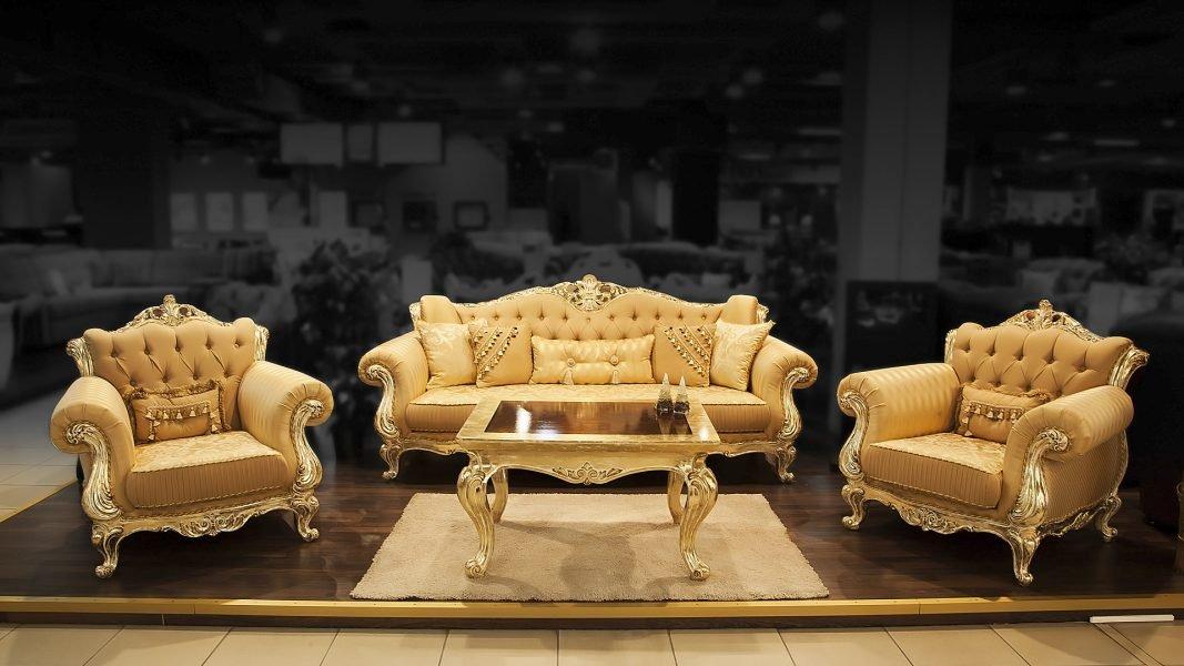 Мягкая мебель в стиле барокко в Казани