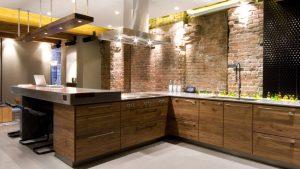 кухни в стиле лофт на заказ